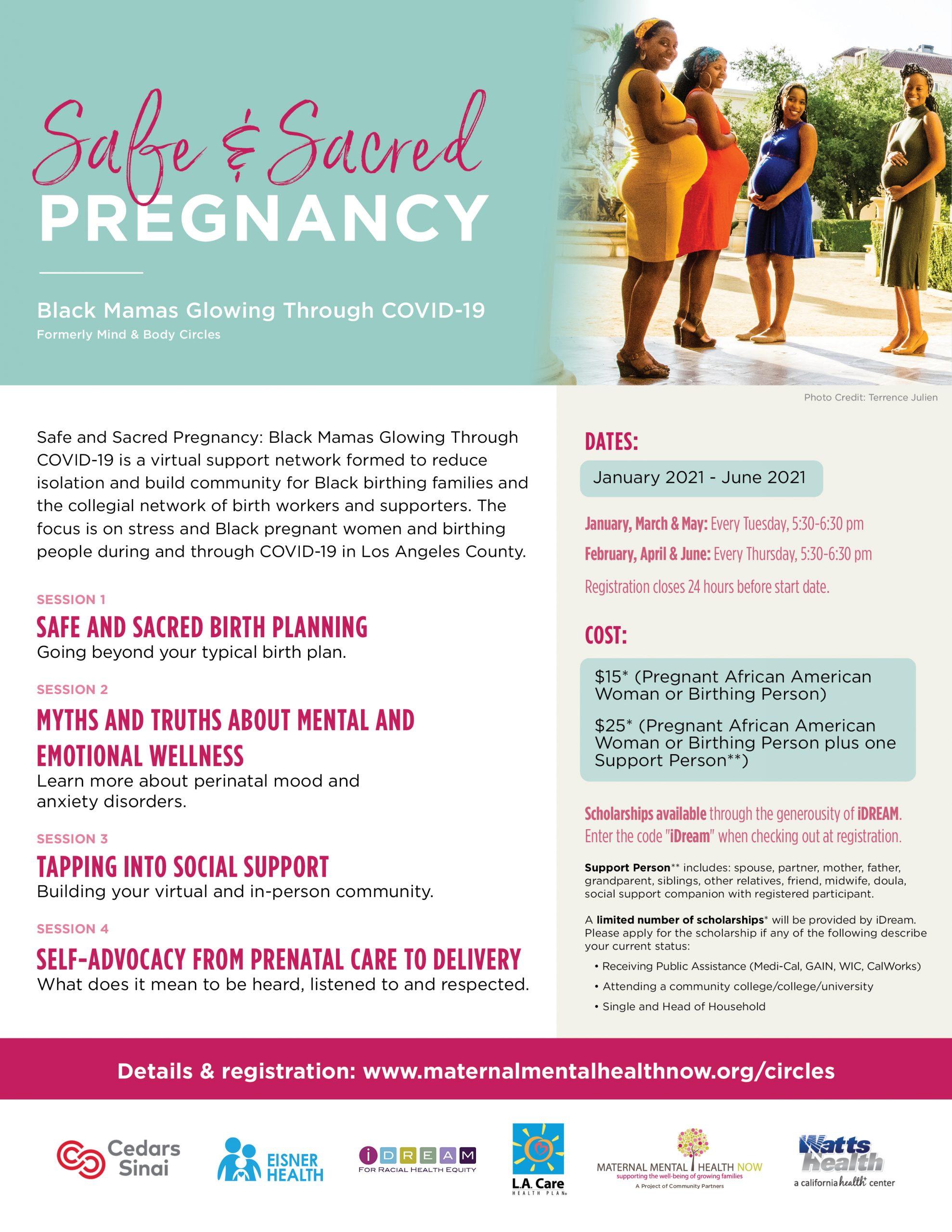 SAFE & SACRED PREGNANCY