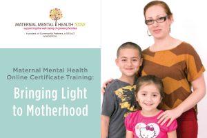 MMHN Bringing Light to Motherhood Online Certificate Training